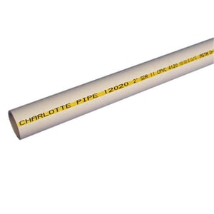 Charlotte Pipe & Foundry 20 ft. SDR 11 CPVC Plastic Pressure Pipe CPFGP20