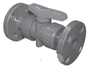 FNW PVC Viton Flanged True Union Ball Valve FNW340NFV