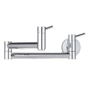 Blanco America Cantata™ 2.2 gpm 2-Handle Wall Mount Pot Filler B44119