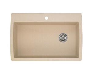 Blanco america diamond 33 1 2 in super single dual mount for Blancoamerica com kitchen sinks