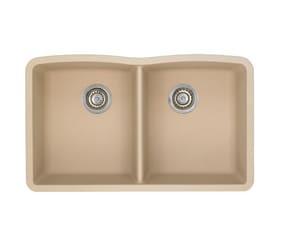 Blanco America Diamond™ Double Bowl Under-Mount Sink B44018