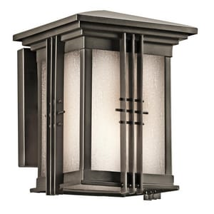 Kichler Lighting Portman Square™ 100W 1-Light Outdoor Wall Mount Lantern KK49157