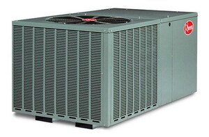 Rheem 3.5T 14 SEER Packaged Heat Pump R410A 10KW RQPMA043JK010