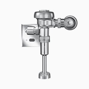 Sloan Valve Optima® 0.5 gpf Sensor Activated Flushometer in Polished Chrome S3582654