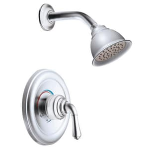 Moen Monticello® Shower Trim Kit with Single Lever Handle and 1-Function Showerhead MT2444EP