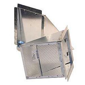 D & L Airflow Solutions 30 ga Eyebrow Screen SHMEBSS30