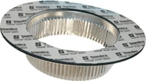 D & L Airflow Solutions 26 ga Adhesive Takeoff Collar Damper SHMATD26