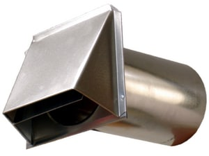 D & L Airflow Solutions 30 ga Dryer Vent Flange Damper SHMDVF30