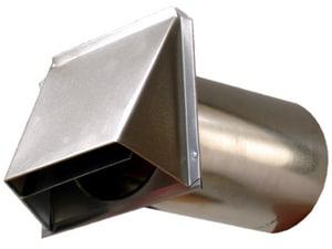 D & L Airflow Solutions 26 ga Dryer Vent Stuc Street Damper SHMDVS26