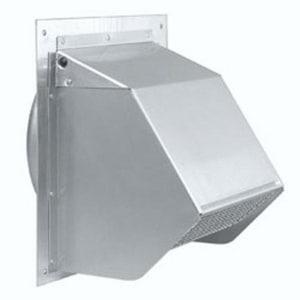 D & L Airflow Solutions Wall Cap FLG Damper 30 Gauge SHWCFD30U