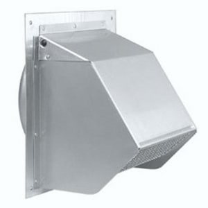 D & L Airflow Solutions Wall Cap Stuc Screen 26 Gauge SHMWCSS26