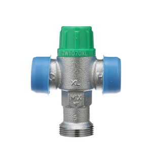 Wilkins Regulator Aqua-Gard® Sweat Thermostatic Mixing Valve with Union WZW1070XLC
