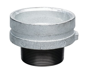Victaulic Grooved Galvanized x Threaded Concentric Reducer VFC43052G00