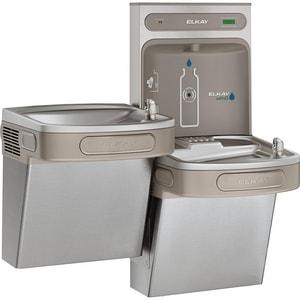 Elkay EzH2O® 2-Level Vandal Resistant Water Cooler Kit ELZSTL8WSVRSK
