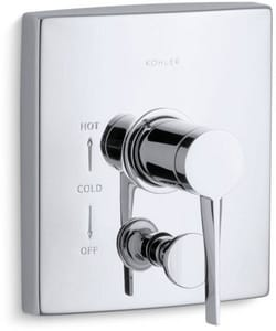 Kohler Stance® Pressure Balance Valve Trim with Single Lever Handle KT14779-4