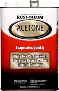 Rust-oleum Acetone R248668