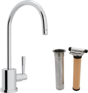 Rohl Perrin & Rowe® Cold Filter Faucet with Single Lever Handle and 6 in. Spout Reach RUKIT1601L2
