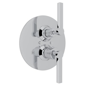Rohl Avanti Thermostatic Volume Control Valve with Double Lever Handle RA4209LM