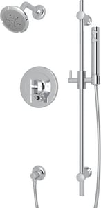 Rohl Modern™ 2 gpm Shower Package with Single Lever Handle in Polished Chrome RMODKIT36LAPC