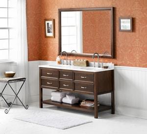 Ronbow Newcastle 60 in. Wood Vanity Cabinet R052760