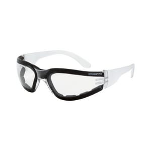 Crossfire Safety Eyewear Shield Anti-Fog Safety Glasses with Clear Frame C554AF