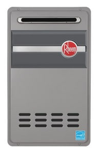 Rheem Outdoor Natural Tankless Heater RRTG84XN