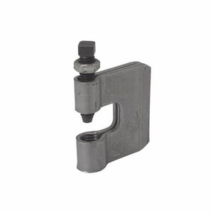 Cooper B-Line Rod Zinc Steel C Clamp with Locknut BB351L38ZN