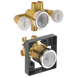 Delta Faucet Jetted Shower Rough-In Valve with Extra Outlet DR18000XO