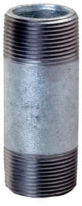1/4 in. Threaded Galvanized Steel Nipple IGNB