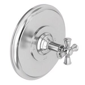 Newport Brass Aylesbury 2.5 gpm Pressure Balancing Shower Trim with Single Cross Handle N4-2404BP