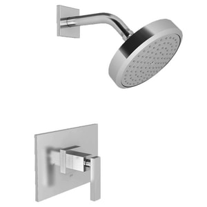 Newport Brass Secant Shower Trim Kit with Single Lever Handle and 1-Function Showerhead N3-2044BP