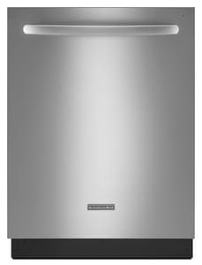 Kitchenaid Architect® 24 in. 4-Cycle 6-Option Dishwasher KKUDS30FX