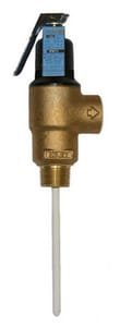 Wilkins Regulator TP220 10-11/32 in. Temperature and Pressure Release Valve WTP2205C150C
