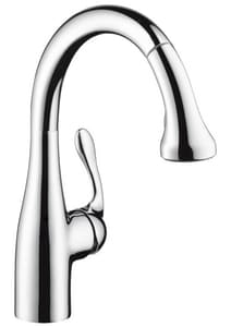 Hansgrohe Allegro E 1-Hole Bar or Prep Kitchen Faucet with Single Lever Handle H04297