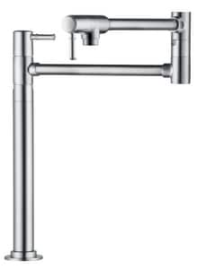 Hansgrohe Talis® S 2.5 gpm 1-Hole Deckmount Pot Filler with Single Lever Handle H04219