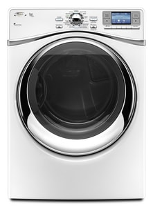 Whirlpool Duet® 27 in. 7.3 cf 120V 13-Cycle Gas Steam Dryer WWGD97HEX