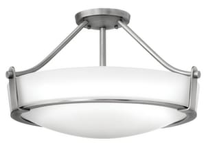 Hinkley Lighting 12-3/10 in. 4-Light Semi-Flushmount Ceiling Light H3221