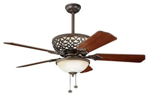 Kichler Lighting Cortez™ 5-Blade Ceiling Fan KK300113