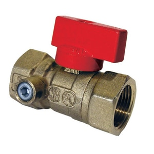 Dormont Manufacturing Series 92 Forged Brass FIP Shut Off Valve D92ST