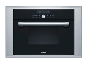 Thermador Masterpiece® 24 in. Steam and Convection Oven in Black/Stainless Steel TMES301HP