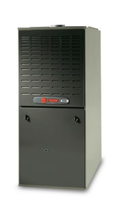 Trane XV80 Series 21 in. 80000 BTU 80% AFUE 4 Ton Two-Stage Upflow and Horizontal Left 3/4 hp Natural or LP Gas Furnace TTUD2C080A9V4VB