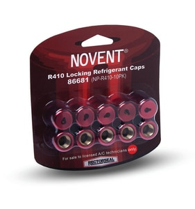 Rectorseal Novent® 10-Pack R410 Thread Novent Cap in Pink REC86681