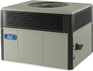 American Standard HVAC 4DCZ6 3T 16 SEER Diamond Finish Packaged Heat Pump A4DCZ6036A1075B