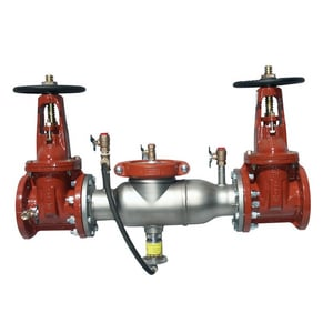 Ames Fire & Waterworks 4000SS 4 in. 4000SS Reduced Pressure Zone Assembly with Outside Stem and Yoke AD4000SSOSYP