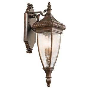 Kichler Lighting Venetian Rain 60 W 2-Light Candelabra Lantern KK49131