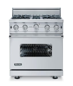 Viking Range 30 in. 4 Open-Burner Free Standing Gas Range VVGIC5304B
