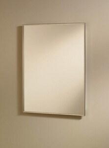 Jensen 16 in. Recessed Medicine Cabinet with Reversible Door in White R840M18CH