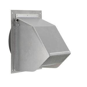Broan Nutone 6 in. Aluminum Fresh Air Inlet Wall Cap B641FA
