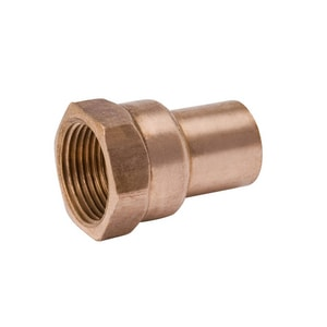 Mueller Industries Copper x Female Adapter Clean and Bagged CBCFAM