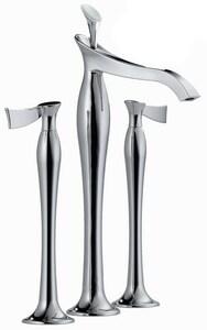 Brizo RSVP® Double Lever Handle Deckmount Vessel Lavatory Faucet D65790LFLHP
